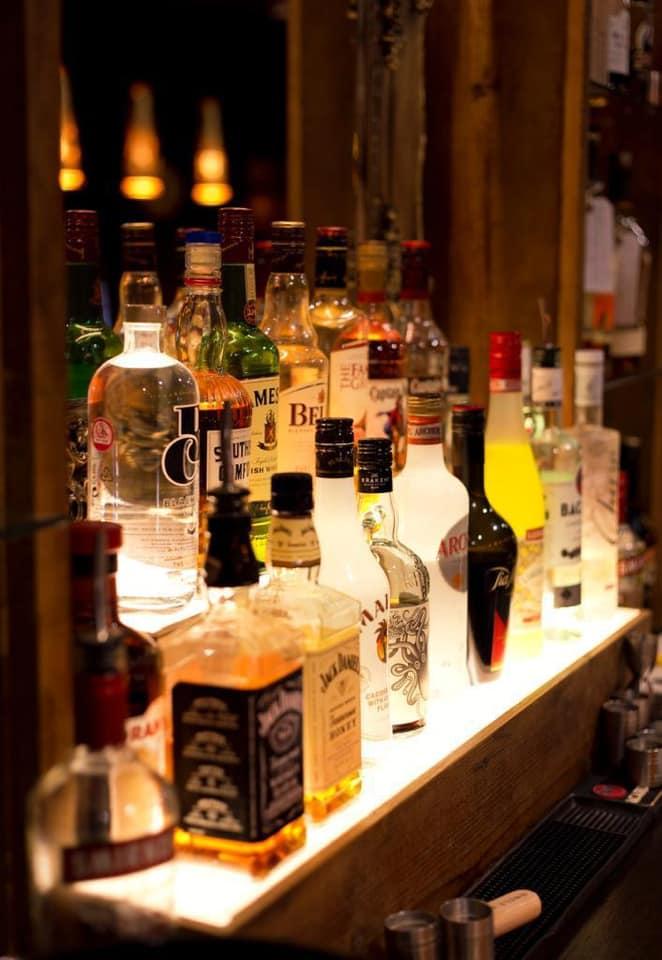 Lush Drinks Display