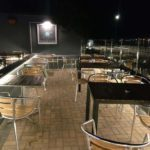 Outdoor patio area lighting design at the Instow Arms